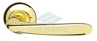 Ручка раздельная Pava LD42-1GP/SG-5 золото/матовое золото