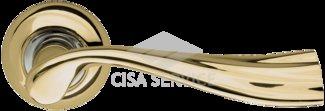 Ручка раздельная Laguna LD85-1GP/CP-2 золото/никель