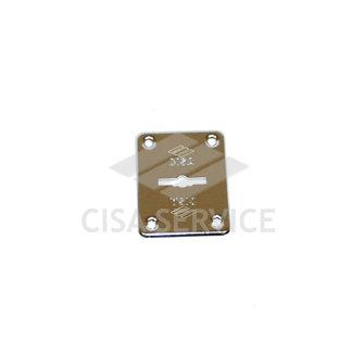 06082.00.0.12 Cisa Декоративная накладка под сувальдный ключ (никель)