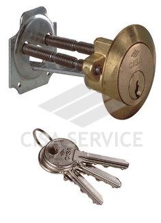 02500.00 CISA 02500 цилиндр для накладного замка (латунь)