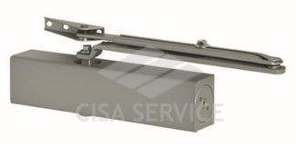 D1610.05.0.97 Cisa Доводчик дверной до 120 кг., серебристый