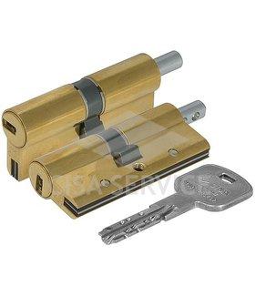 OH3S2.29.0.66.C5 Cisa AP3 S цилиндр 90 (45x45) кл/верт (латунь)
