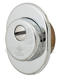 06470.01.18 Cisa Броненакладка на цилиндр (хром) 35 мм