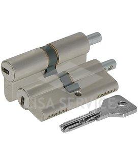 OE302.18.0.12.C5 Cisa ASIX цилиндр 80 (40x40) кл/верт (никель)