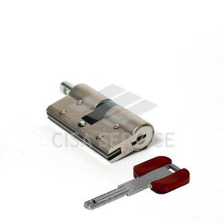OL3S2.23.0.12.CL.C5 Cisa RS3 S цилиндр 100 (50x50) кл/верт (никель)
