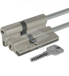 OA3S7.07.0.12.C5 Cisa ASTRAL S цилиндр 60 (30x30) кл/дл.шток (никель)