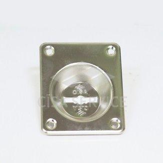 06083.00.0.12 Cisa Декоративная накладка с углублением под сувальдный ключ (никель)
