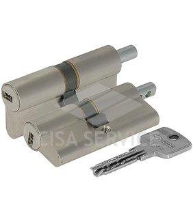 OA312.21.0.12.C5 Cisa ASTRAL цилиндр 90 (40x50) кл/верт (никель)