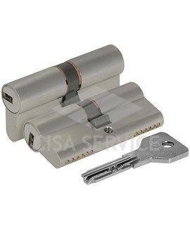 OE300.43.0.12.C5 Cisa ASIX цилиндр 100 (45x55) кл/кл (никель)