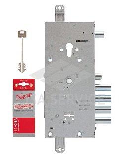 57966.48 (ключ 64мм) Cisa Замок врезной двухсистемный NEW CAMBIO BASIC  тех упаковка