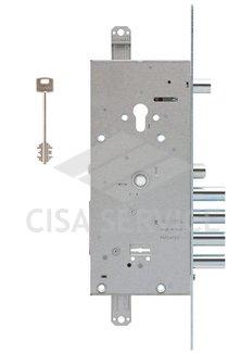 57986.48 Cisa Замок 2х системный с перекодировкой NEW CAMBIO FACILE без комплекта ключей
