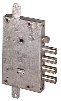 57665 Cisa Замок врезной сувальдный 57.665.48 NEW CAMBIO FACILE (тех. упаковка), ключ 64 мм