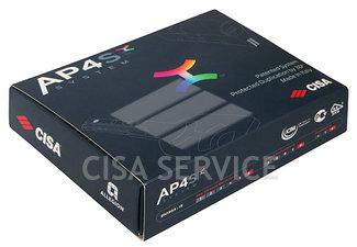 OP3S1.29.0.12.C5 Cisa AP4 S цилиндр 90 (45x45) кл/кл (никель)