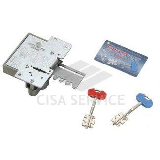 25SX-S-ZB-XXXX-S67 Securemme Нуклия сувальдная 25S Securmap левая (1+5ключей), длина ключа 110 мм