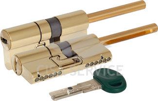 C31P513101LC5 CHAMPIONS C31 MOTTURA Цилиндровый механизм 82мм (51x31) ключ/длинный шток, латунь